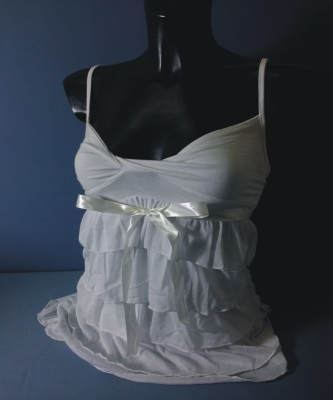WHITE TOP SIZE S-M